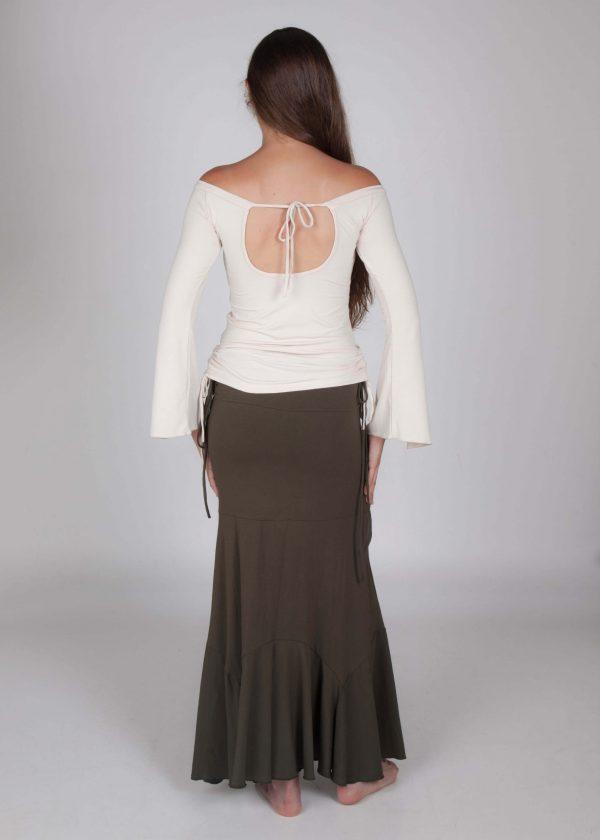 bohemian skirt long stylish