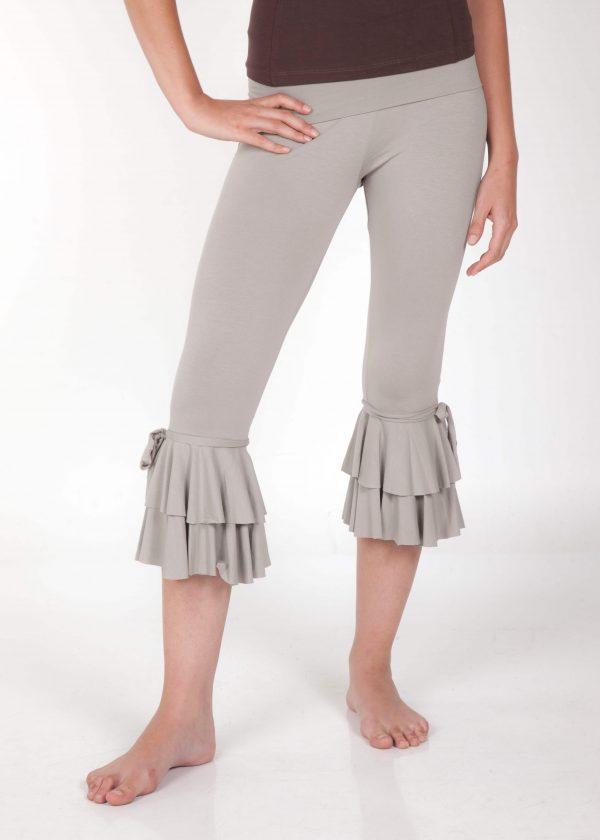 white yoga pants women style