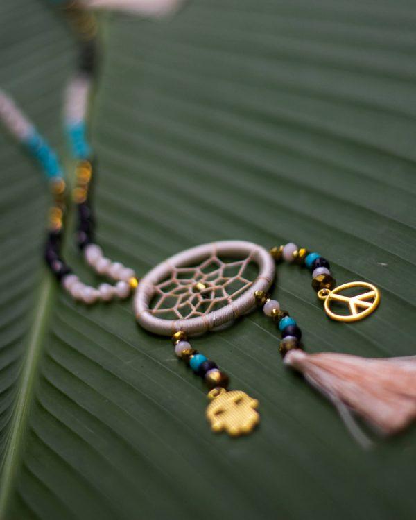 bohemian necklace stylish