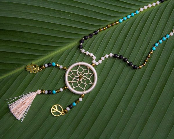 yoga inspired necklace