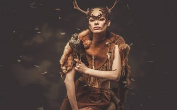 women-magic-animal-power-dress -